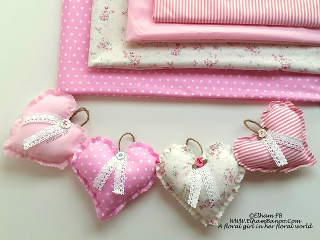 fabric heart ElhamFB