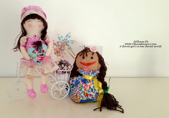 handmade dolls by ElhamFB