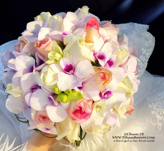 my wedding flower ElhamFB WWW.ElhamBanoo.Com-